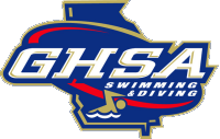 GHSA Swimming and Diving logo